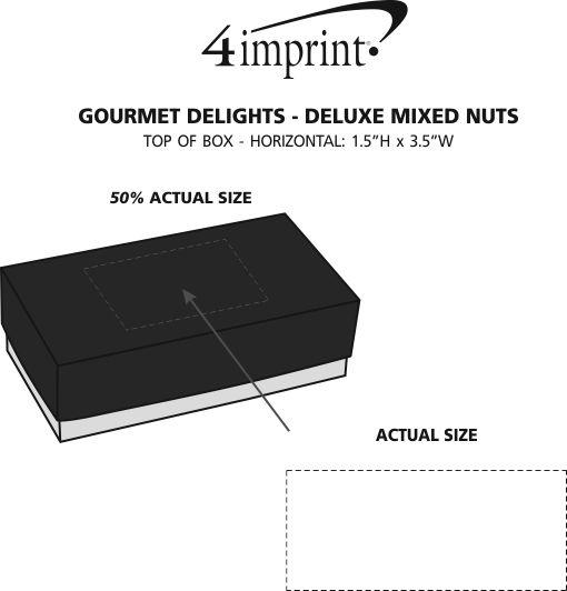 Imprint Area of Gourmet Delights - Deluxe Mixed Nuts