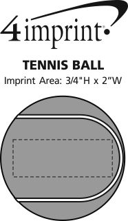 Imprint Area of Tennis Ball