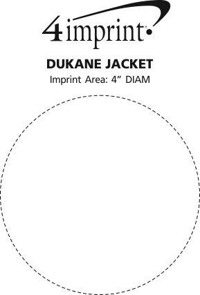 Imprint Area of Dukane Jacket