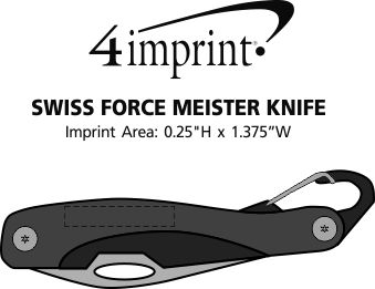Imprint Area of Swiss Force Meister Knife