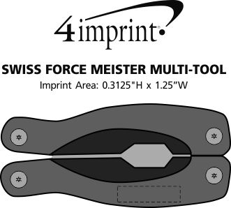 Imprint Area of Swiss Force Meister Multi-Tool
