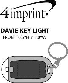 Imprint Area of Davie Key Light