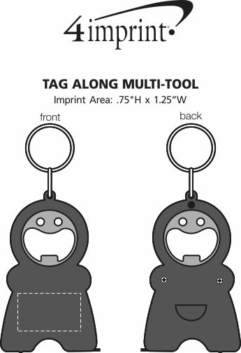 Imprint Area of Tag Along Multi-Tool