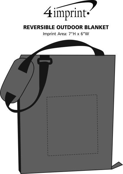Imprint Area of Reversible Outdoor Blanket