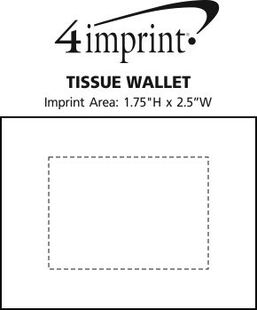 Imprint Area of Tissue Wallet