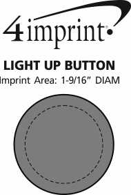 Imprint Area of Light-Up Button