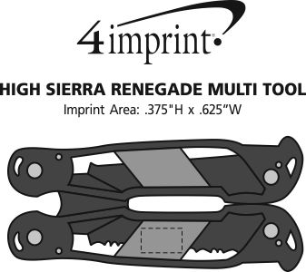 Imprint Area of High Sierra Renegade Multi-Tool