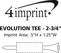 "Imprint Area of Evolution Tee - 2-3/4"""
