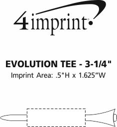 Imprint Area of Evolution Tee - 3-1/4""