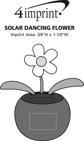 Imprint Area of Solar Dancing Flower