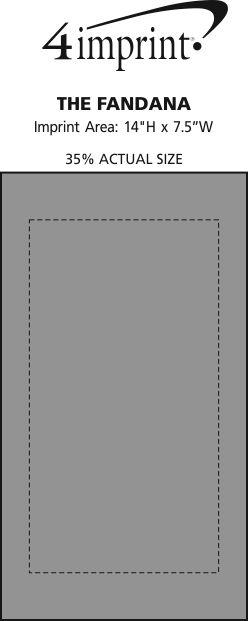 Imprint Area of The Fandana