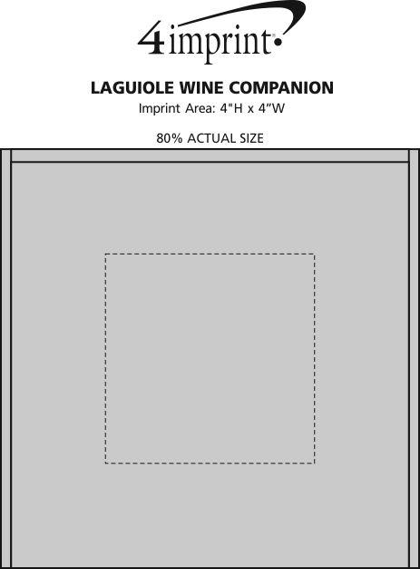 Imprint Area of Laguiole Wine Companion