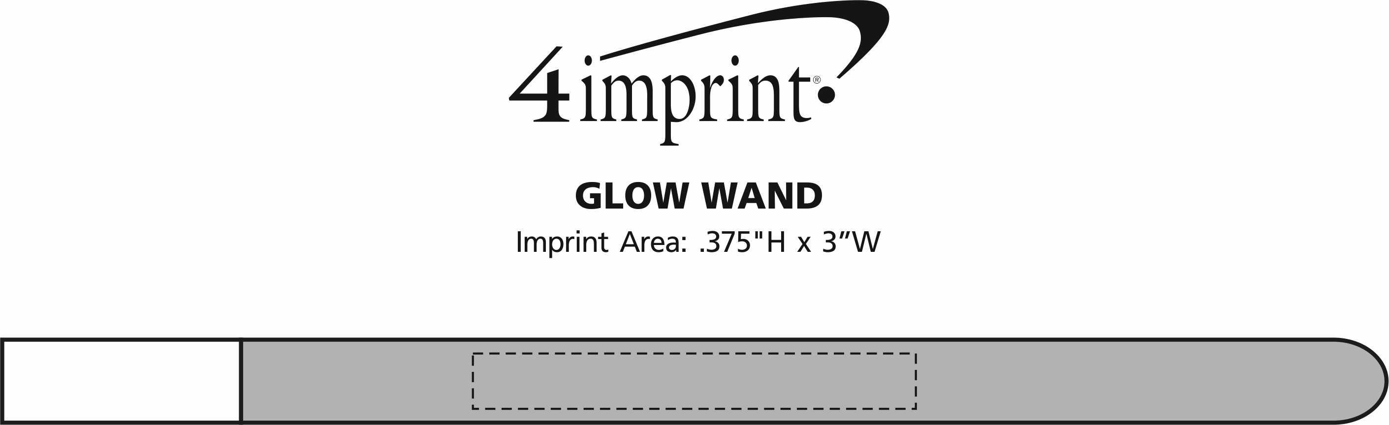 Imprint Area of Glow Wand