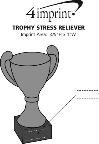 Imprint Area of Trophy Stress Reliever
