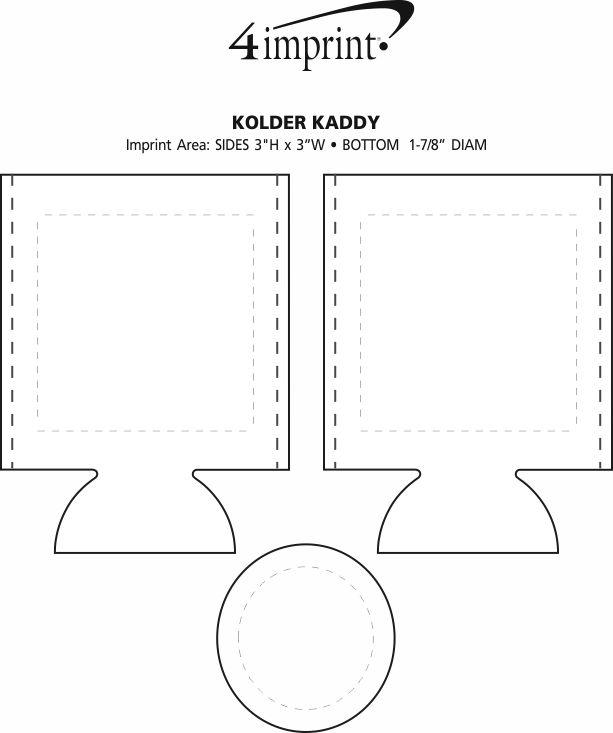 Imprint Area of Kolder Kaddy