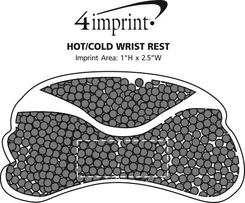 Imprint Area of Hot/Cold Wrist Rest