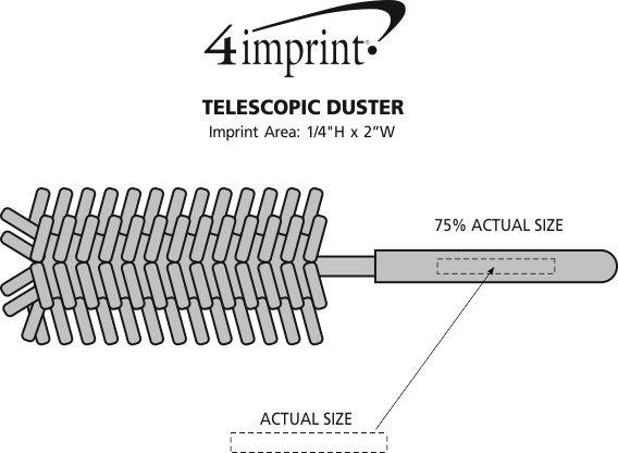 Imprint Area of Telescopic Duster