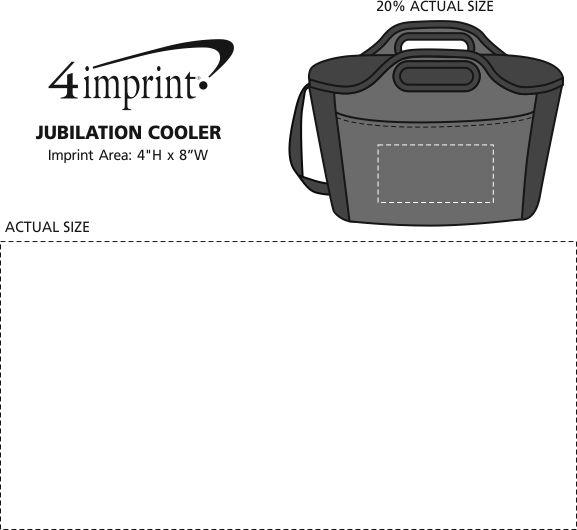 Imprint Area of Jubilation Cooler