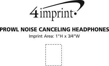 Imprint Area of Prowl Noise Canceling Headphones