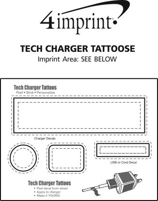 Imprint Area of Tech Charger Tattoos