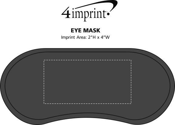 Imprint Area of Eye Mask