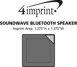 Imprint Area of Soundwave Bluetooth Speaker