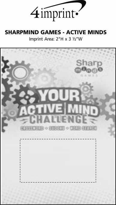 Imprint Area of SharpMind Games - Active Mind