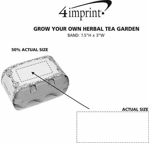Imprint Area of Grow Your Own Herbal Tea Garden