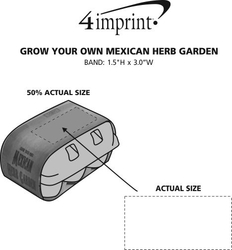 Imprint Area of Grow Your Own Mexican Herb Garden