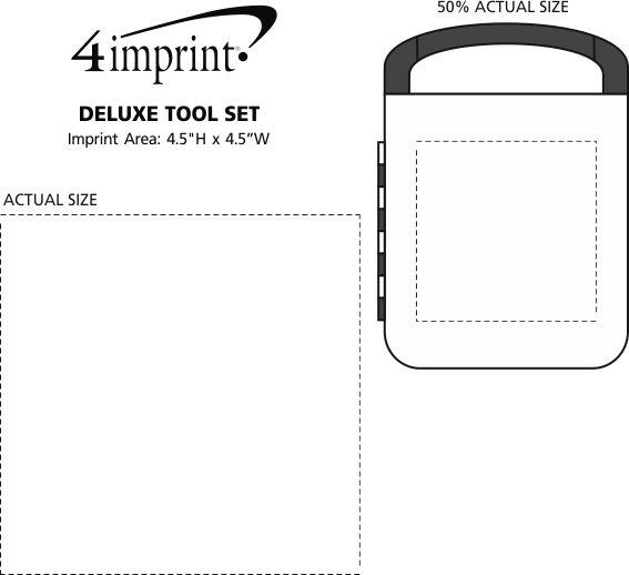 Imprint Area of Deluxe Tool Set