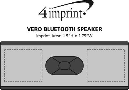 Imprint Area of Vero Bluetooth Speaker