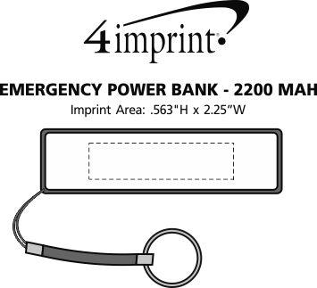 Imprint Area of Emergency Power Bank