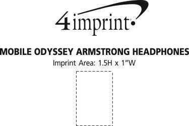 Imprint Area of Mobile Odyssey Armstrong Headphones