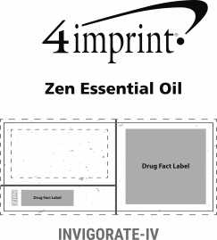 Imprint Area of Zen Essential Oil - Invigorate