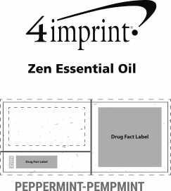 Imprint Area of Zen Essential Oil - Peppermint
