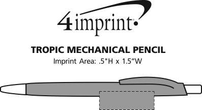 Imprint Area of Tropic Mechanical Pencil