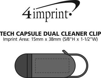 Imprint Area of Tech Capsule Dual Cleaner Clip
