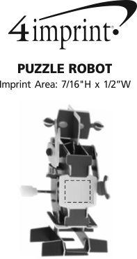 Imprint Area of Puzzle Robot