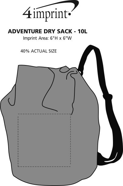 Imprint Area of Adventure Dry Sack - 10L