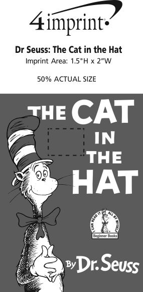 Imprint Area of Dr. Seuss: The Cat in the Hat