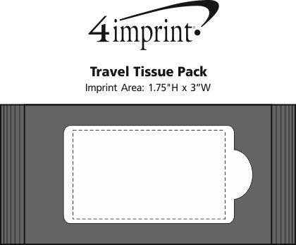 Imprint Area of Travel Tissue Pack