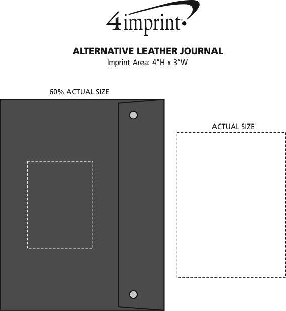 Imprint Area of Alternative Leather Journal