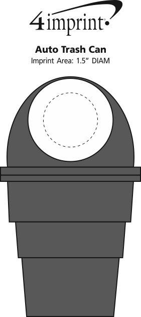 Imprint Area of Auto Trash Can