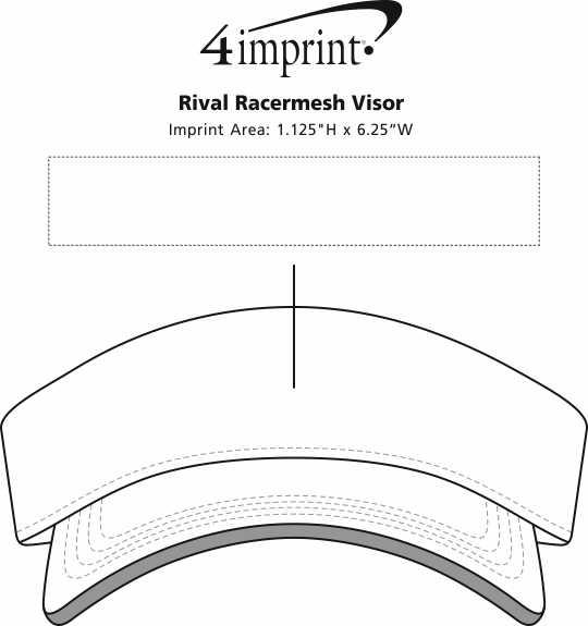 Imprint Area of Rival Racermesh Visor