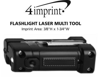 Imprint Area of Flashlight Laser Multi-Tool
