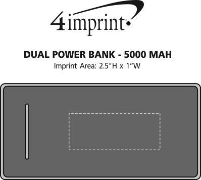 Imprint Area of Dual Power Bank