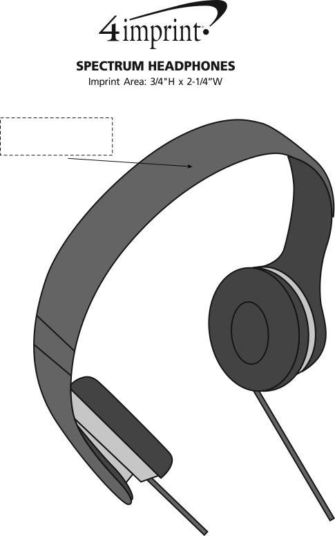Imprint Area of Spectrum Headphones