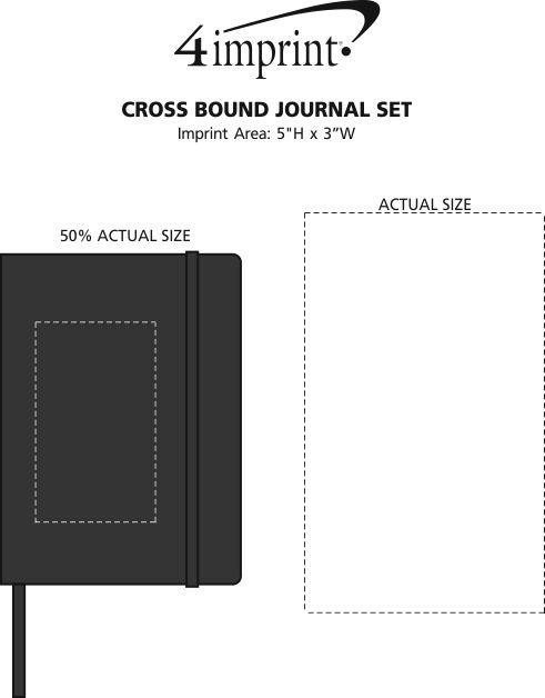 Imprint Area of Cross Bound Journal Set