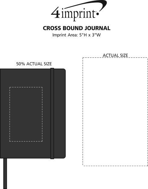 Imprint Area of Cross Bound Journal