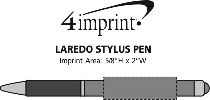 Imprint Area of Laredo Stylus Pen